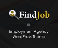 FindJob - Employment Agency WordPress Theme