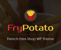 FryPotato - French Fries Shop WordPress Theme