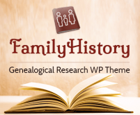 Family History - Genealogical Research WordPress Theme & Template