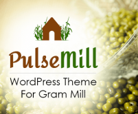 Pulse Mill - Gram Mill WordPress Theme & Template