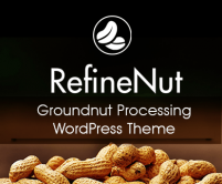 Refine Nut - Groundnut Processing WordPress Theme & Template