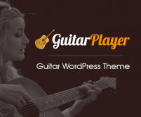 GuitarPlayer - Guitar WordPress Theme