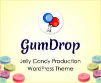 Gum Drop - Jelly Candy Production WordPress Theme & Template