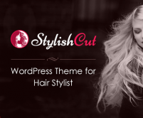StylishCut - Hair Stylist WordPress Theme