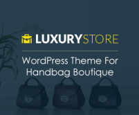LuxuryStore - Handbag Boutique WordPress Theme