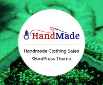HandMade - WordPress Theme For Handmade Clothing Sales