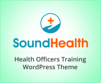 Sound Health - Health Officers Training Program WordPress Theme