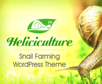 Heliciculture - Snail Farming WordPress Theme