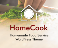 Home Cook - Homemade Food Service WordPress Theme & Template