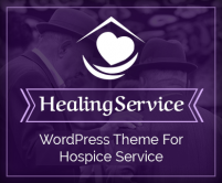 HealingService - Medical Hospice Service WordPress Theme