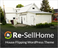 ReSell Home - House Flipping WordPress Theme