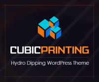 CubicPrinting - Hydro Dipping WordPress Theme