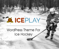IcePlay - Ice Hockey WordPress Theme