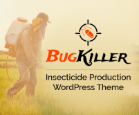 BugKiller- Insecticide Production WordPress Theme