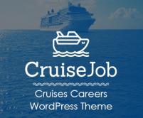 Cruise Job - Cruises Careers WordPress Theme & Template