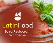 Latin Food - Salsa Restaurant WordPress Theme & Template