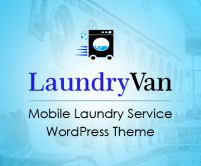LaundryVan - Mobile Laundry & Cleaning service WordPress Theme