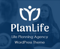 PlanLife - Life Planning Agency WordPress Theme