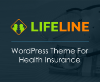 LifeLine - Health Insurance WordPress Theme