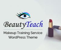 BeautyTeach - Makeup Training Service WordPress Theme