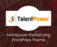 TalentPower - Manpower Resourcing WordPress Theme
