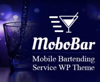 MoboBar - Mobile Bartending Service WordPress Theme