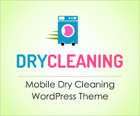 Dry Cleaning - Mobile Dry Cleaning WordPress Theme