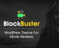 BlockBuster - Movie Review WordPress Theme