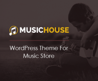 MusicHouse - Music Store WordPress Theme