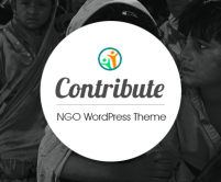 Contribute - NGO WordPress Theme