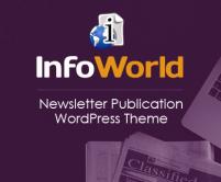 InfoWorld - Newsletter Publication WordPress Theme