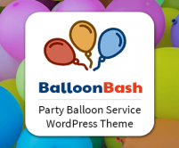 Balloon Bash - Party Balloon Service WordPress Theme & Template