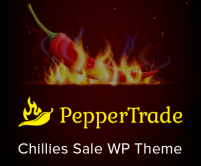 Pepper Trade- Chillies Sale WordPress Theme & Template