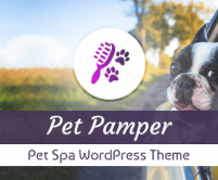 PetPamper - Pet Spa WordPress Theme