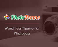 PhotoFrame - Photo Lab WordPress Theme