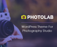 PhotoLab - Photography Studio WordPress Theme