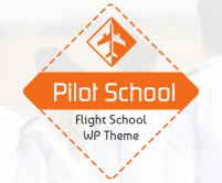 PilotSchool - Flight School WordPress Theme