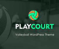 PlayCourt - Volleyball WordPress Theme