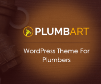 PlumbArt - Plumber WordPress Theme