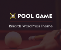Pool Game - Billiards WordPress Theme