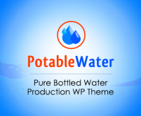 PotableWater - Pure Bottled Water Production WordPress Theme