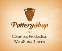 PotteryShop - Ceramics Production & Product Selling WordPress Theme