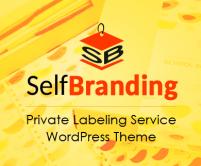 SelfBranding - Private Labeling Service WordPress Theme