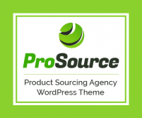 ProSource - Product Sourcing Agency & Company WordPress Theme
