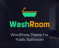 WashRoom - Public Bathroom WordPress Theme