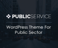 PublicService - Public Sector WordPress Theme