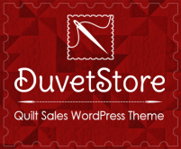Duvet Store - Quilt Sales WordPress Theme & Template