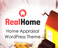 RealHome - Home Appraisal WordPress Theme