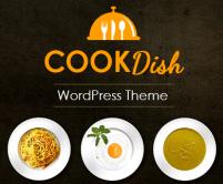 CookDish - Recipe Subscription Service WordPress Theme