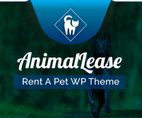 Animal Lease - Rent A Pet WordPress Theme & Template